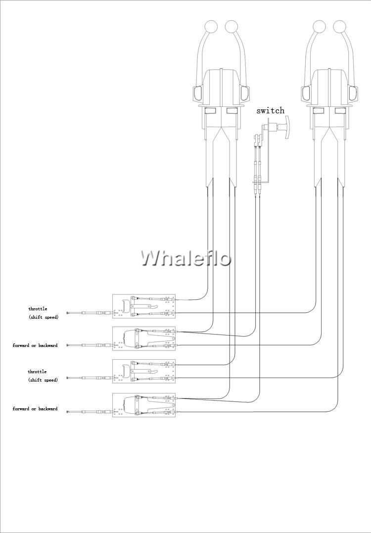 WHALEFLO TWIN LEVER CONTROL